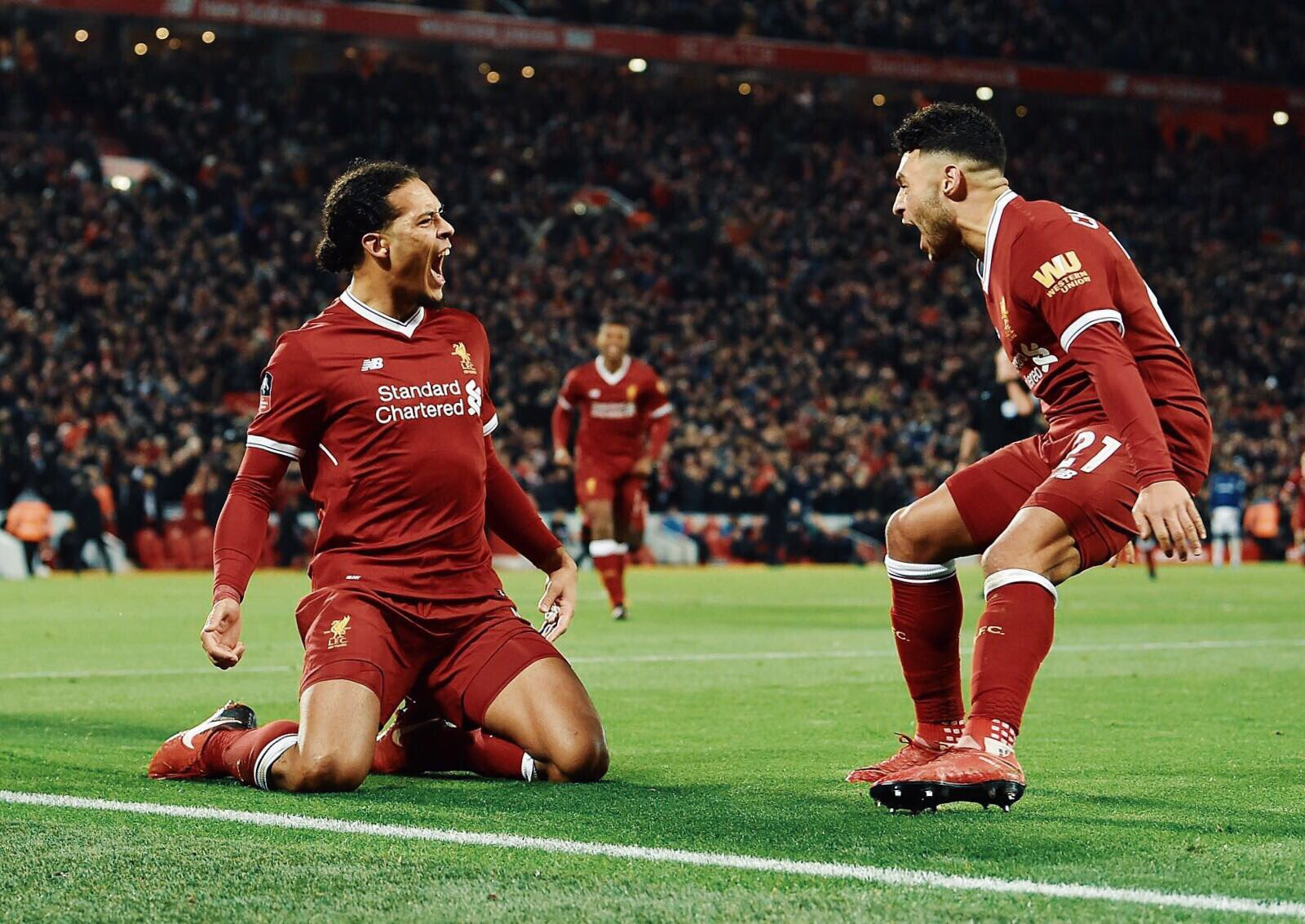 The boy ���� @VirgilvDijk Congrats bro and welcome to Liverpool �� #YNWA https://t.co/CO4OlUJ89q