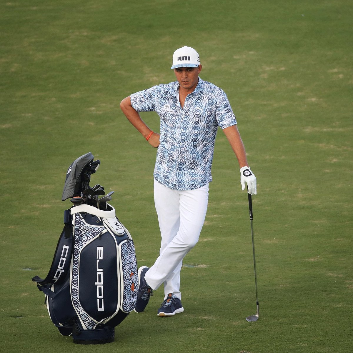 Puma Golf On Twitter Want To Win Rickiefowler S Bag Or A Full Aloha Outfit Head Over Instagram Give Us Your Best Haiku