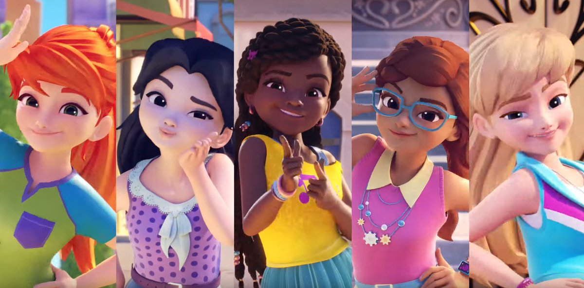 """Lois van Baarle on Twitter: """"look at that, LEGO friends have a new ..."""