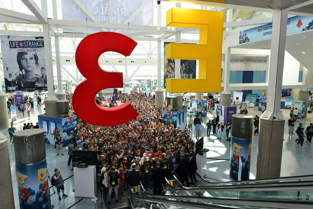 #E3isComing https://t.co/pThPaZ2IUT