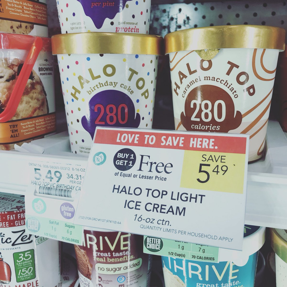 Halo Top Ice Cream Birthday Cake Nutrition Facts