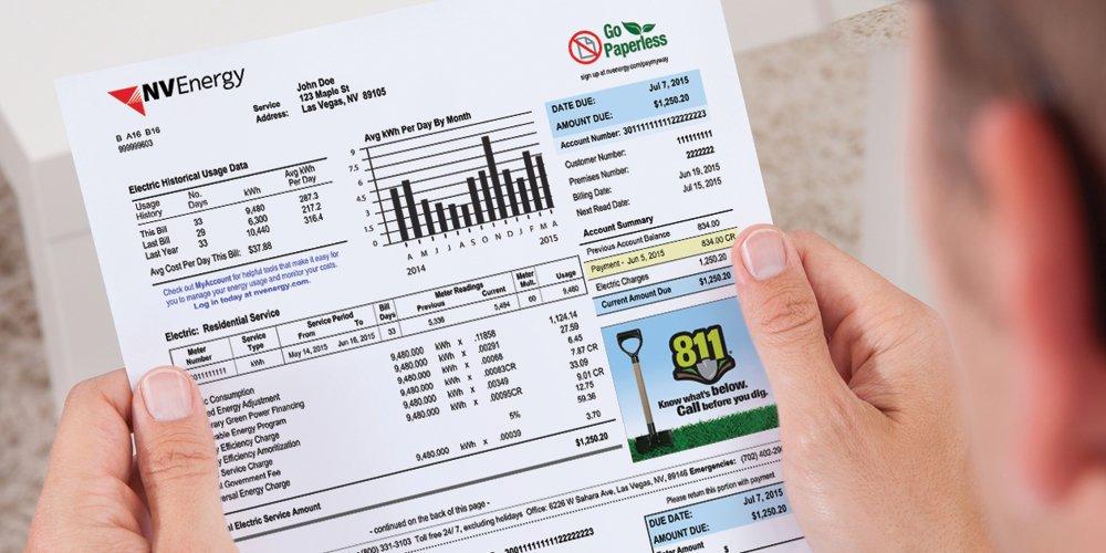 Nv Energy Bill - Energy Etfs