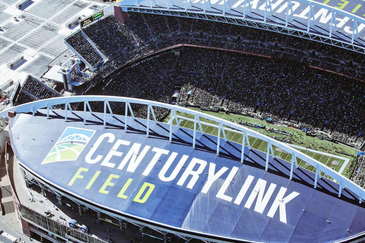 Centurylink Field On Twitter Fun Fact Friday Our Roof Is 210 000 Square Feet Enough To Cover 3 5 Football Fields