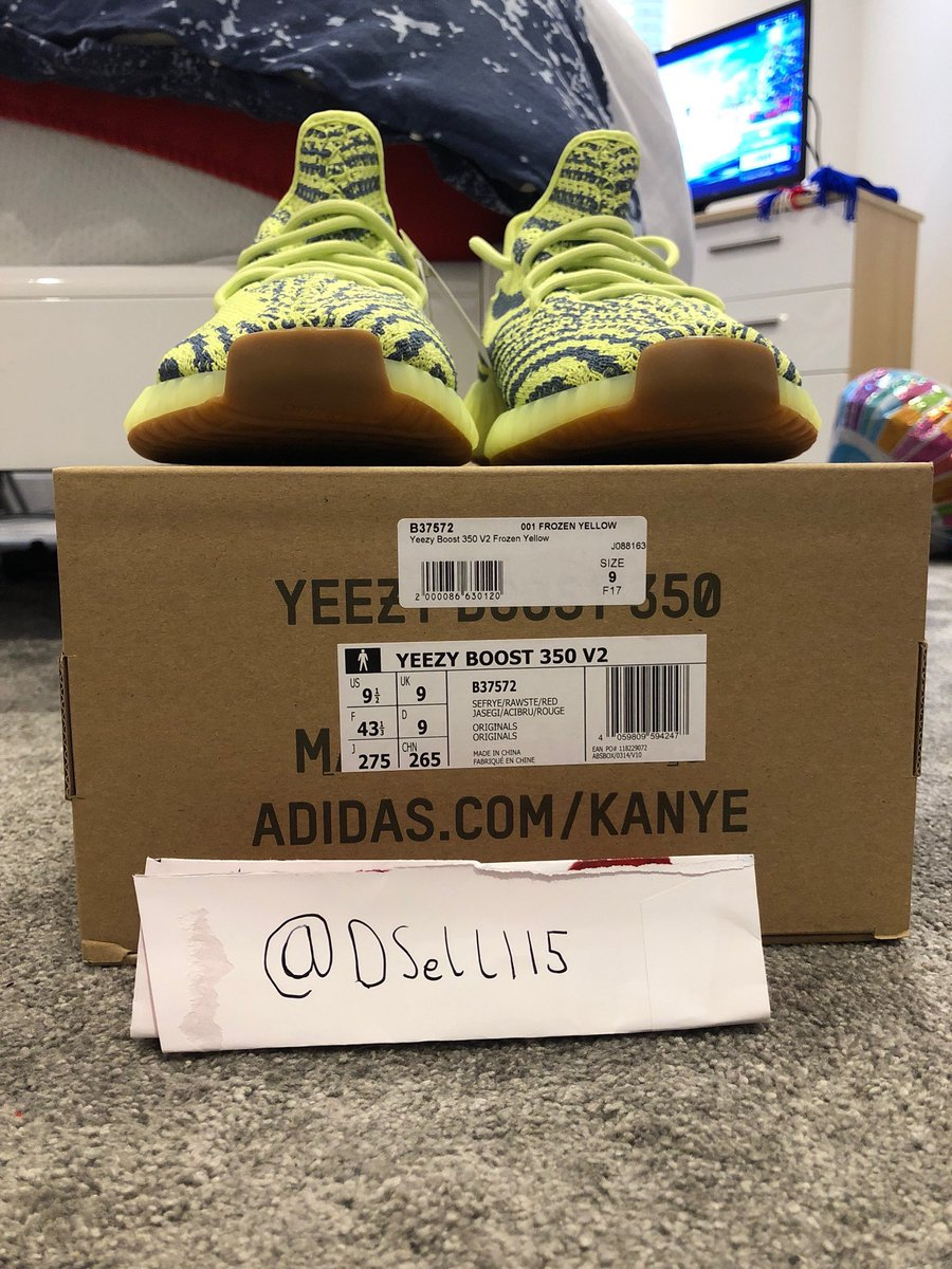 3fdffe96f6a Yeezy Boost 350 V2 Semi-Frozen Size UK9 US9.5 £500  680 or Highest Offer  Brand New   100% Authentic Original Box And Tags DM For more Pictures DM  For offers ...