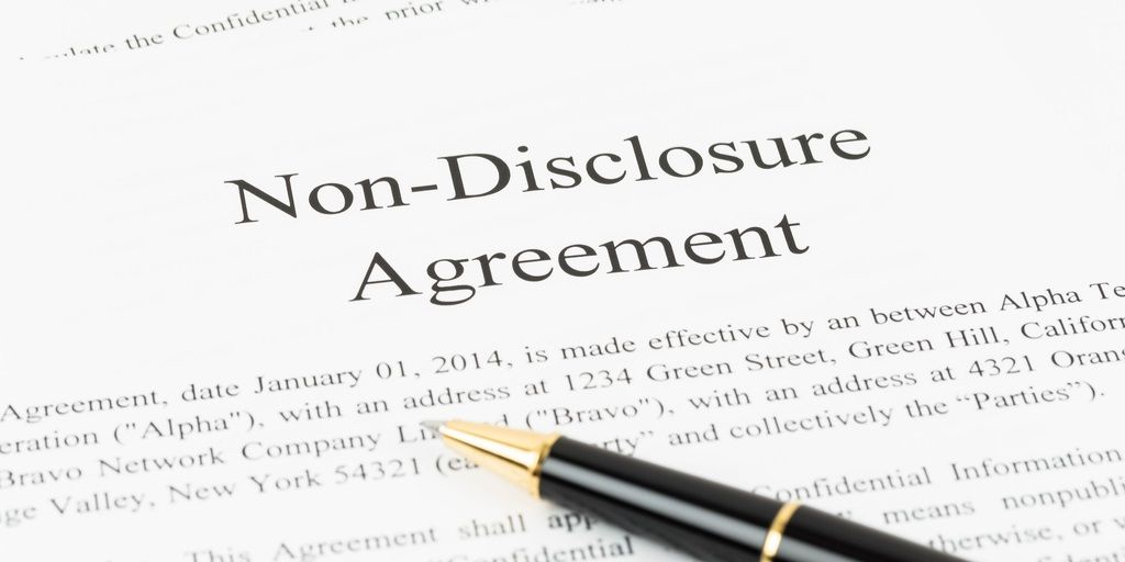 Aba Young Lawyers On Twitter Non Disclosure Agreements Are Least