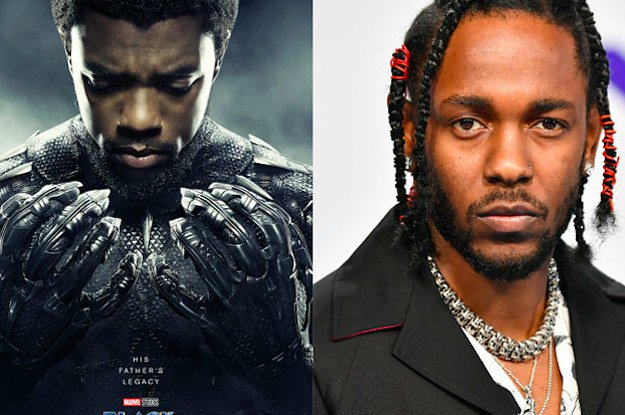 Kendrick Lamar is producing the Black Panther soundtrack, so now were even more hyped for this movie bzfd.it/2CKfUtW