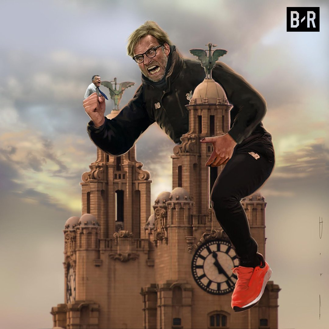 RT @brfootball: A record 16 Merseyside derbies without defeat for Liverpool  King Klopp rules the city again 🔴 https://t.co/r2H5cKur6w