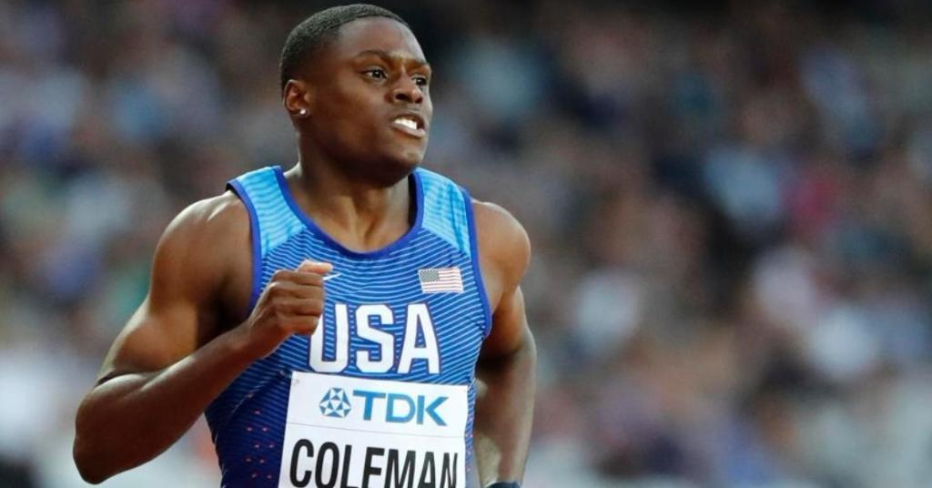 Christian Coleman breaks incredible world record as he continues his march to be the 'New Usain Bolt' https://t.co/e6asVsClUI