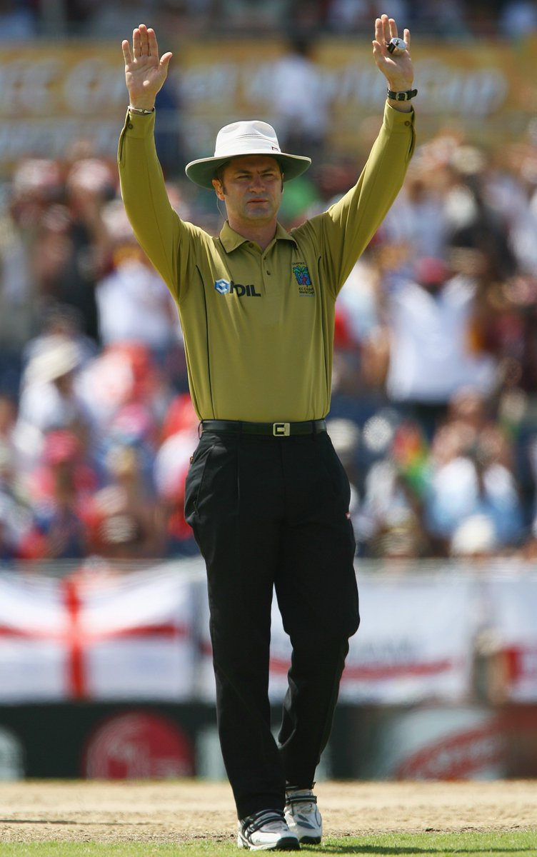 74 Tests 174 ODIs 34 T20Is ICC Umpire of the Year 2004, 2005, 2006, 2007, 2008  Happy Birthday to one of the best umpires the game has seen, Simon Taufel.