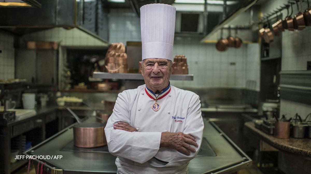 Paul Bocuse, 'le pape de la gastronomie', est mort à 91 ans  https://t.co/qETTZloYOJ