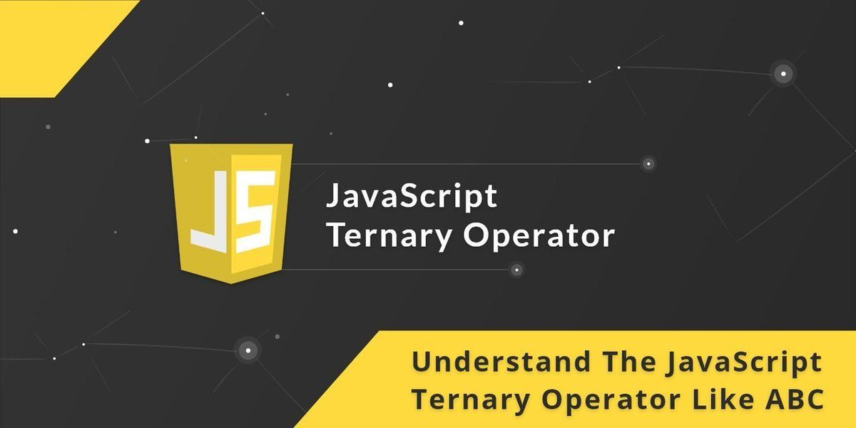 Understand The #JavaScript Ternary Operator like the ABCs https://t.co/IhRT7I4y27