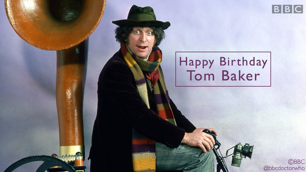 Doctor Who Official's photo on Tom Baker