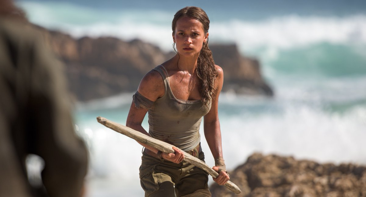 This new #TombRaider trailer proves Lara Croft is not here to screw around: https://t.co/Npf82n7Zbd
