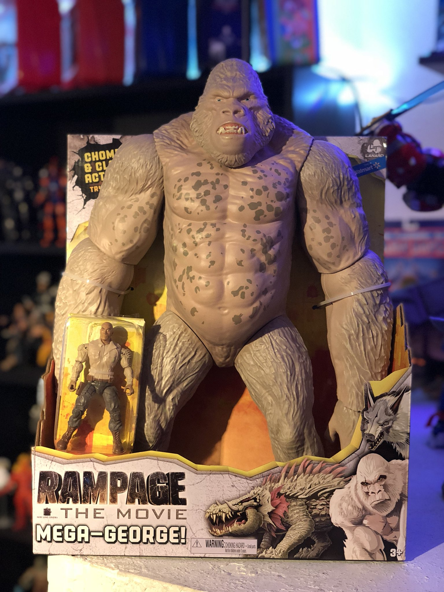 Outtatheboxnw On Twitter Added This Crazy Guy To The Collection This Evening George From The New Rampage Film Coming Out Soon A Huge Toy Comparable To The Kingkong I Already Own Love