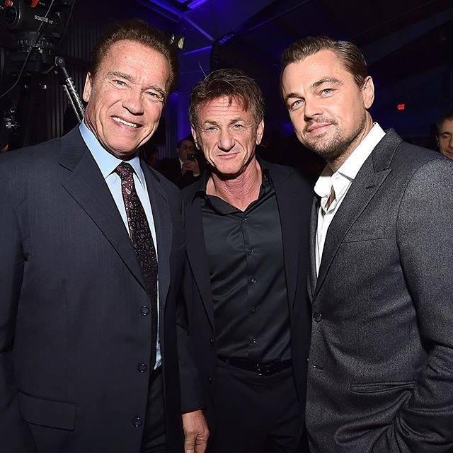 With Arnold Schwarzengger and sean penn at the J/P HRO Gala ( january 6, 2018) #yum #model #restaurant https://t.co/DZhTu0mrlw