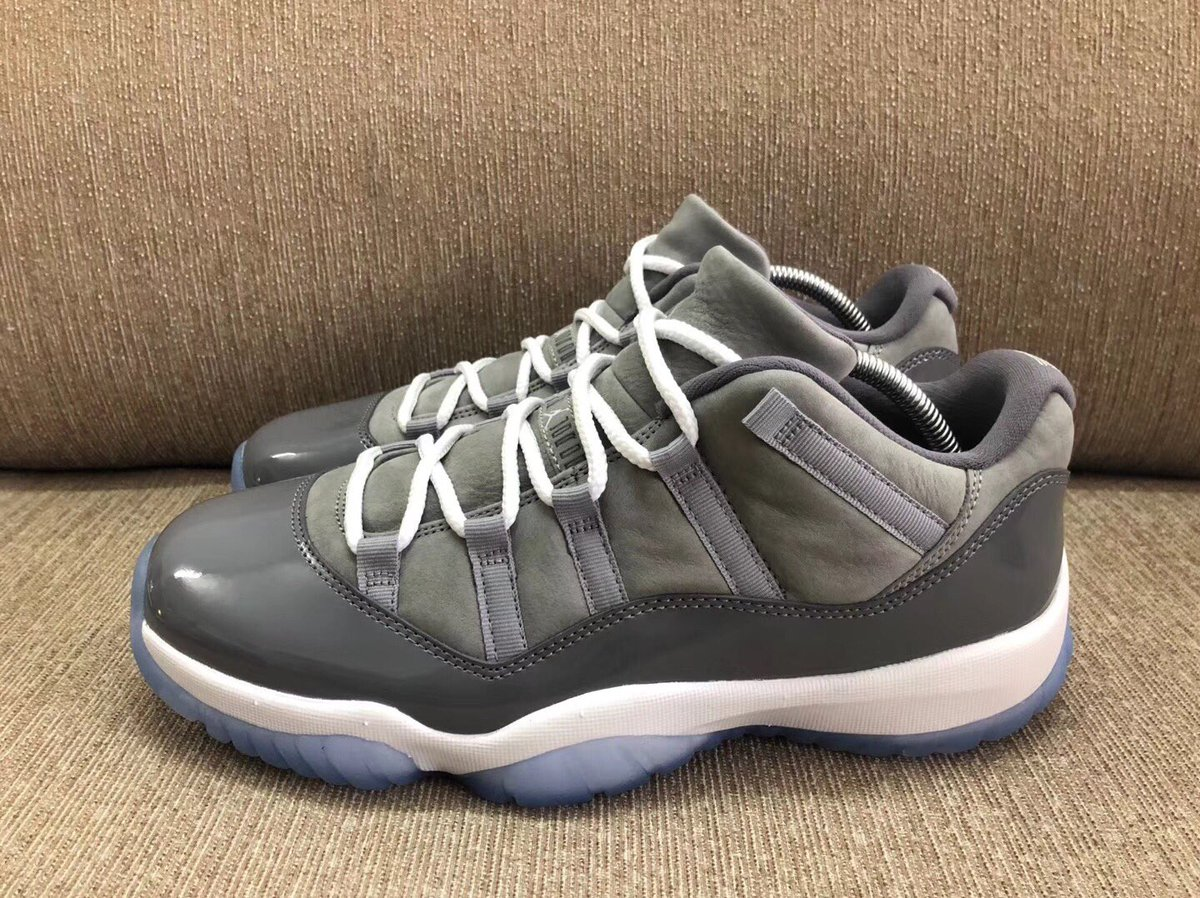 8aada4589c9 https   sneakerbardetroit.com air-jordan-11-low-cool-grey-release-date   …pic.twitter.com E90hZGwELC