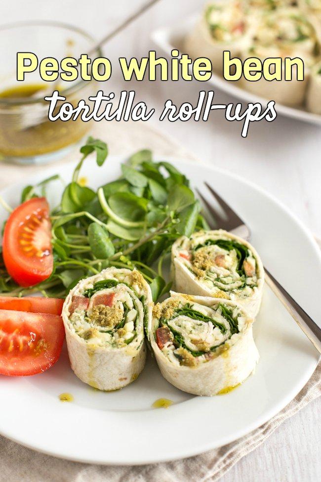 RT Pesto white bean tortilla roll-ups via AmuseYrBouche ➡  https://t.co/591ieCD1zi https://t.co/CnYsMEmLEy #health #well