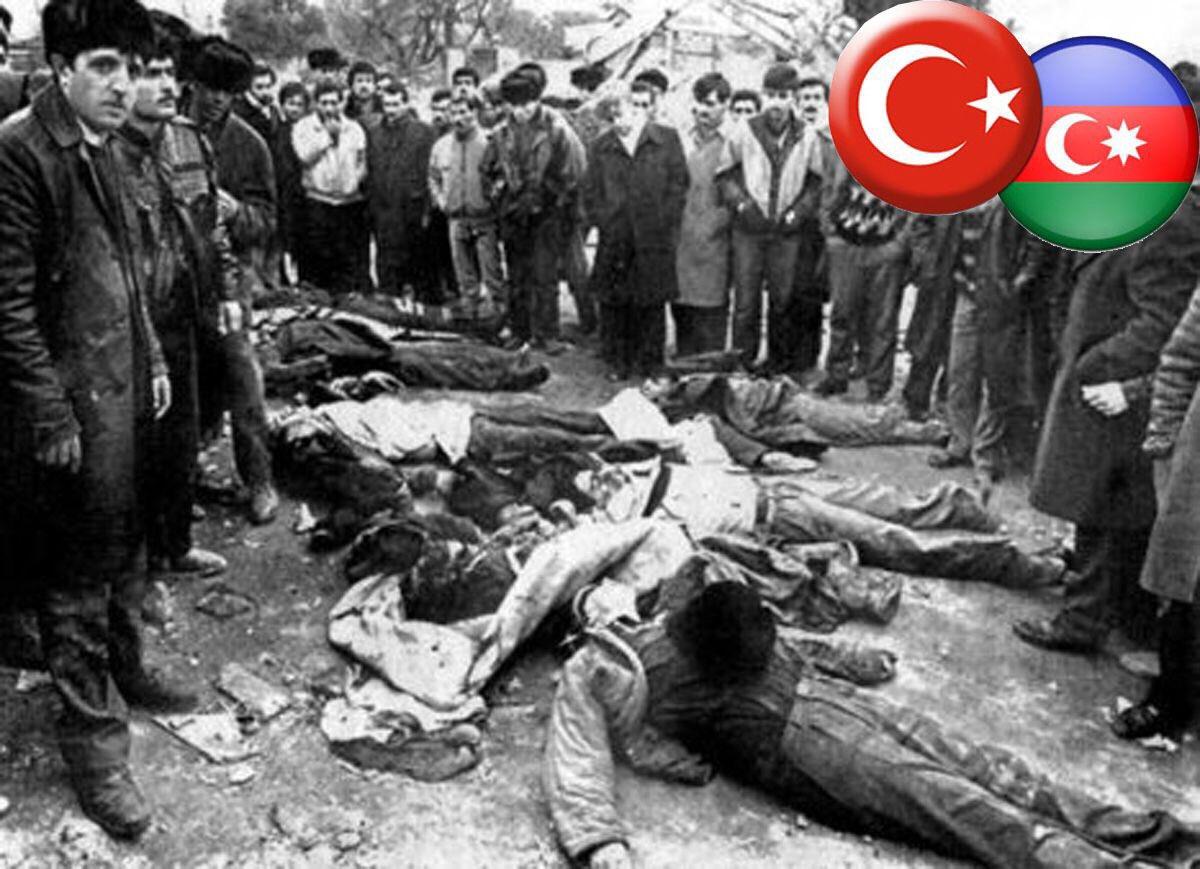 20 Ocak 1990'da Azerbaycan'da yaşanan  F...