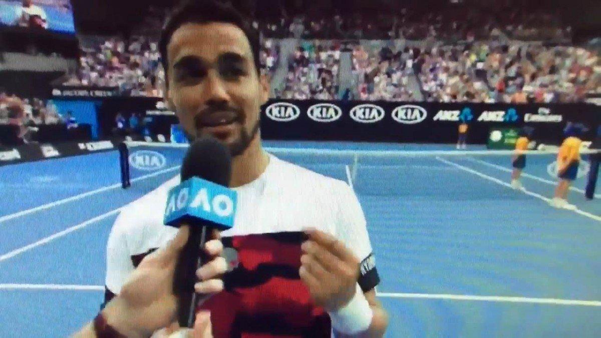 """Australian Open, Fognini vince poi dà lezioni di 'gesti': """"Questo significa  ... - https://t.co/966qq8Zl5L #blogsicilianotizie #todaysport"""
