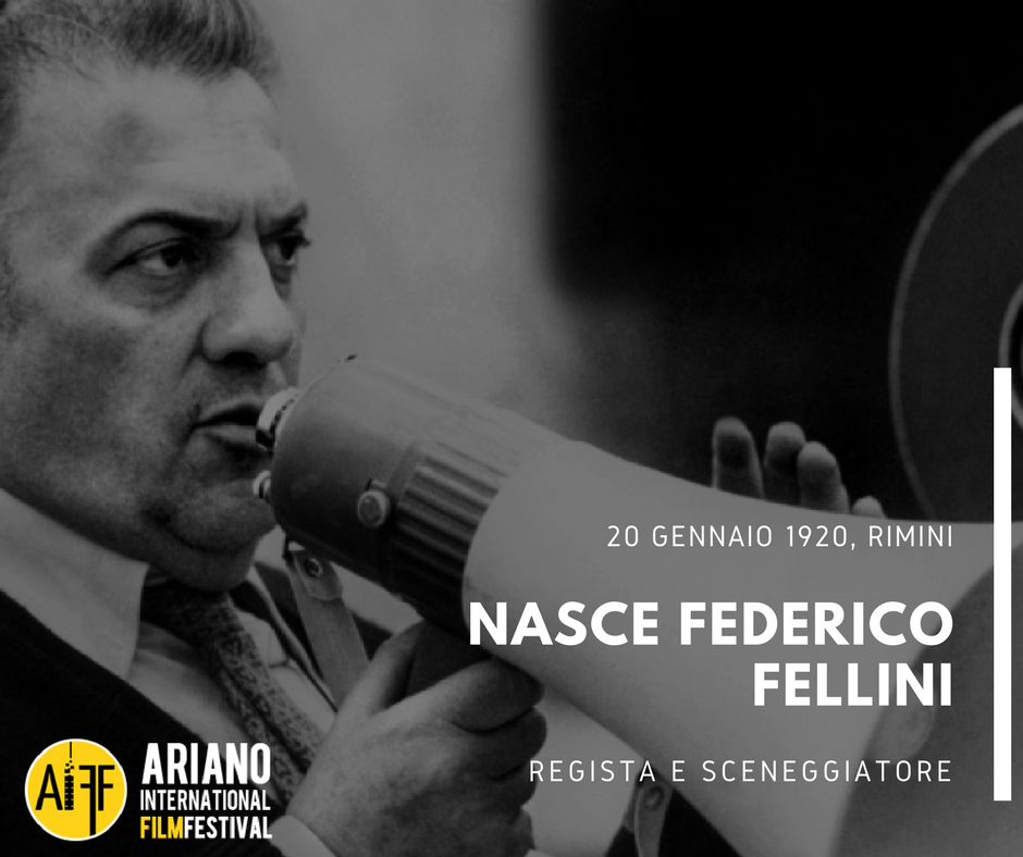 #FedericoFellini #bornonthisday #Cinema #20Gennaio #January20 https://t.co/P9u7bOUVoy