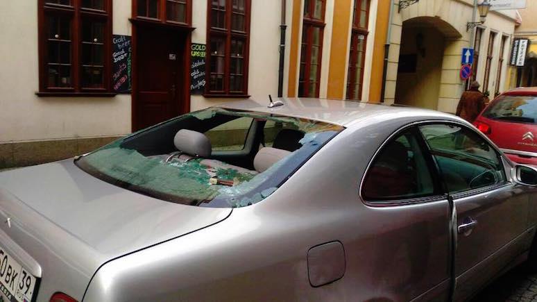 Мэр Гданьска обратился к россиянам, чей автомобиль закидали камнями
