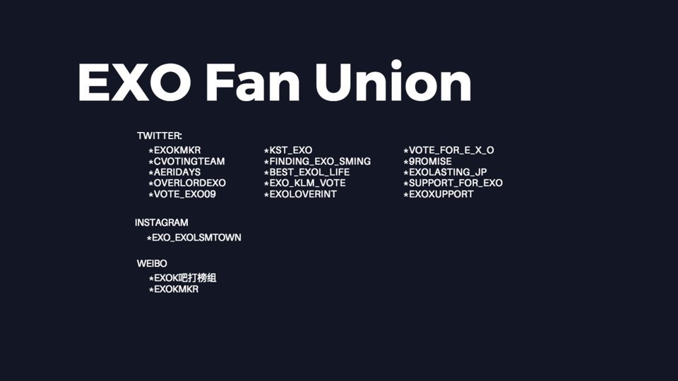 exo klm vote on introducing exo fan union exo fanunion