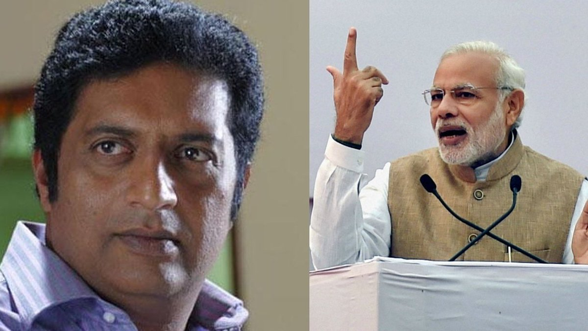 I am anti-Modi and anti-Amit Shah, don't consider them Hindus: Prakash Raj  https://t.co/NL33tSew1l