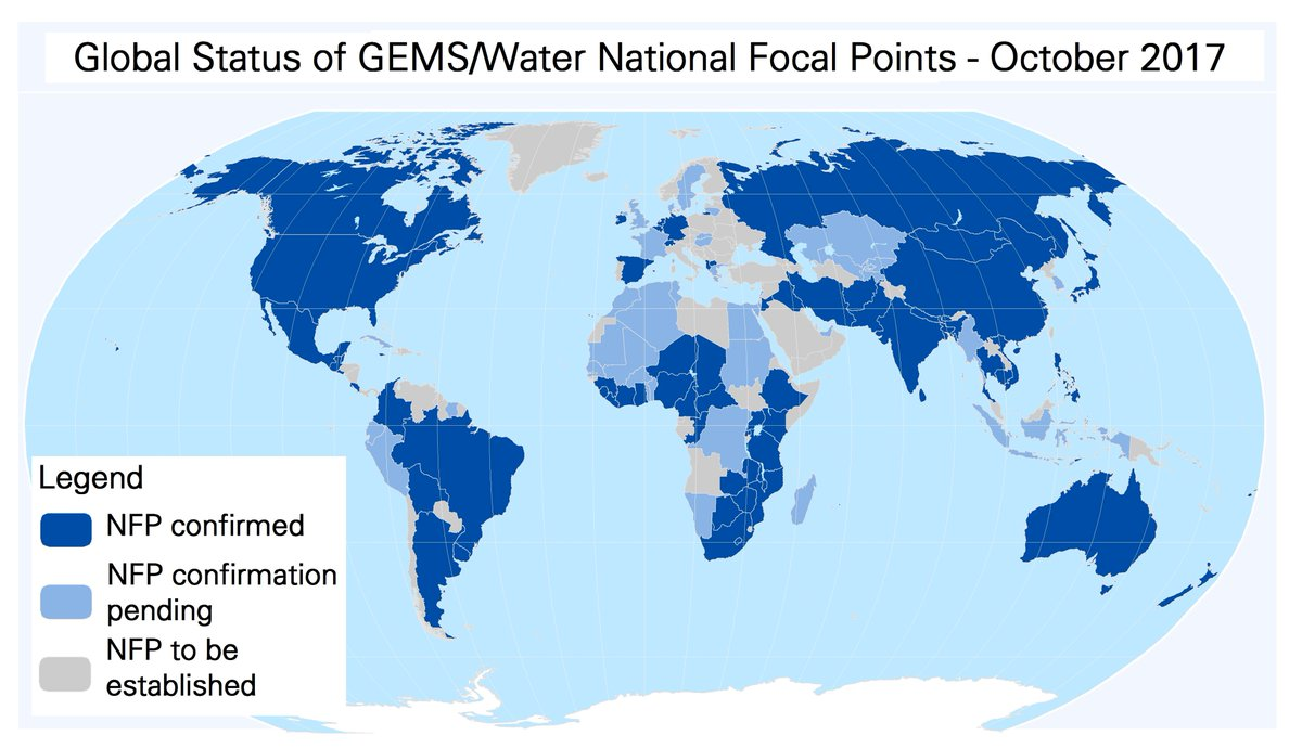 UN Environment GEMS/Water CDC auf Twitter: