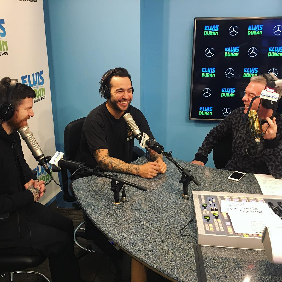 Elvis Duran's photo on #falloutboy