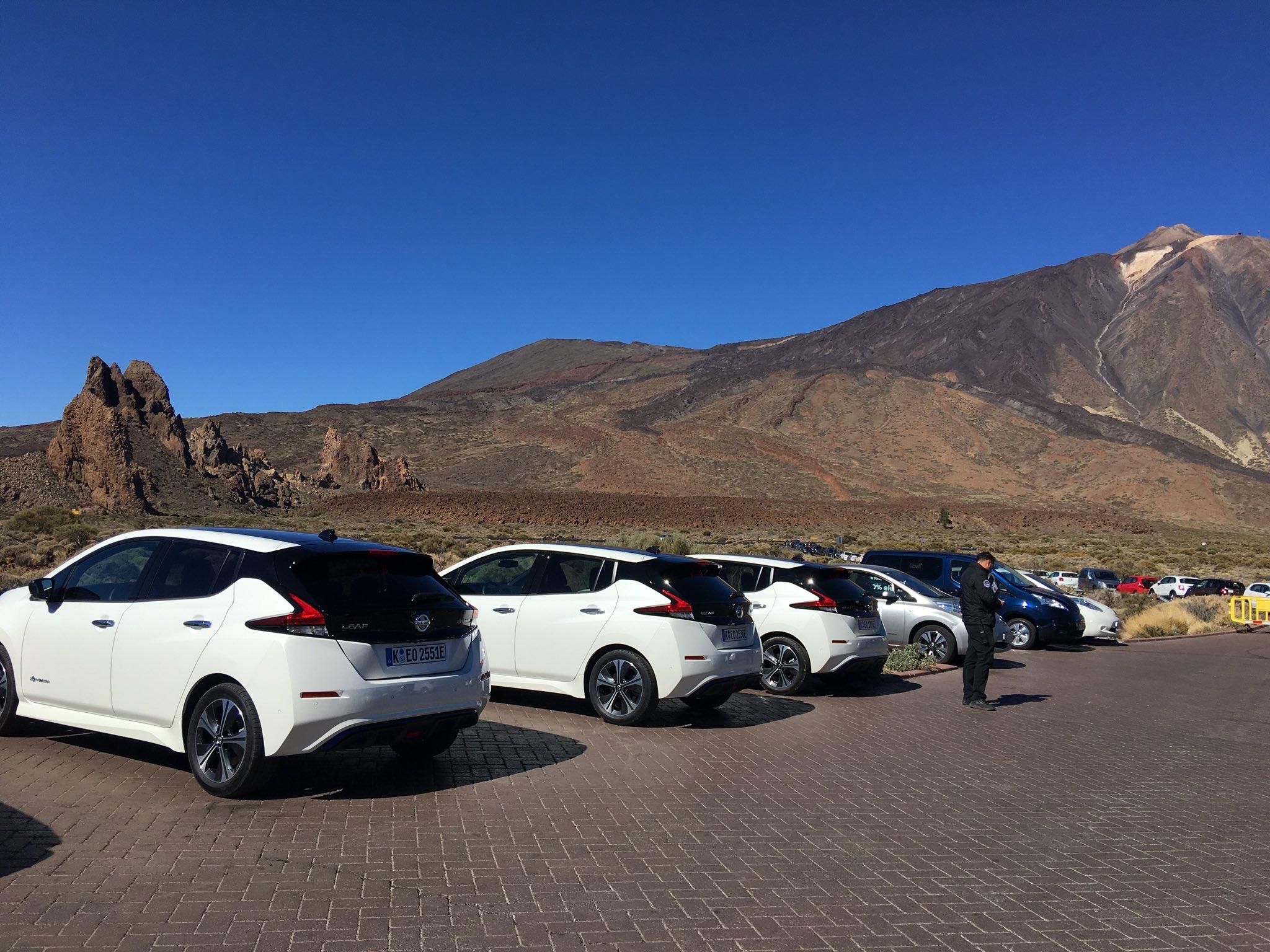 Proper mountain stuff going on. #NissanLEAF #Tenerife https://t.co/QFonR6jgMG