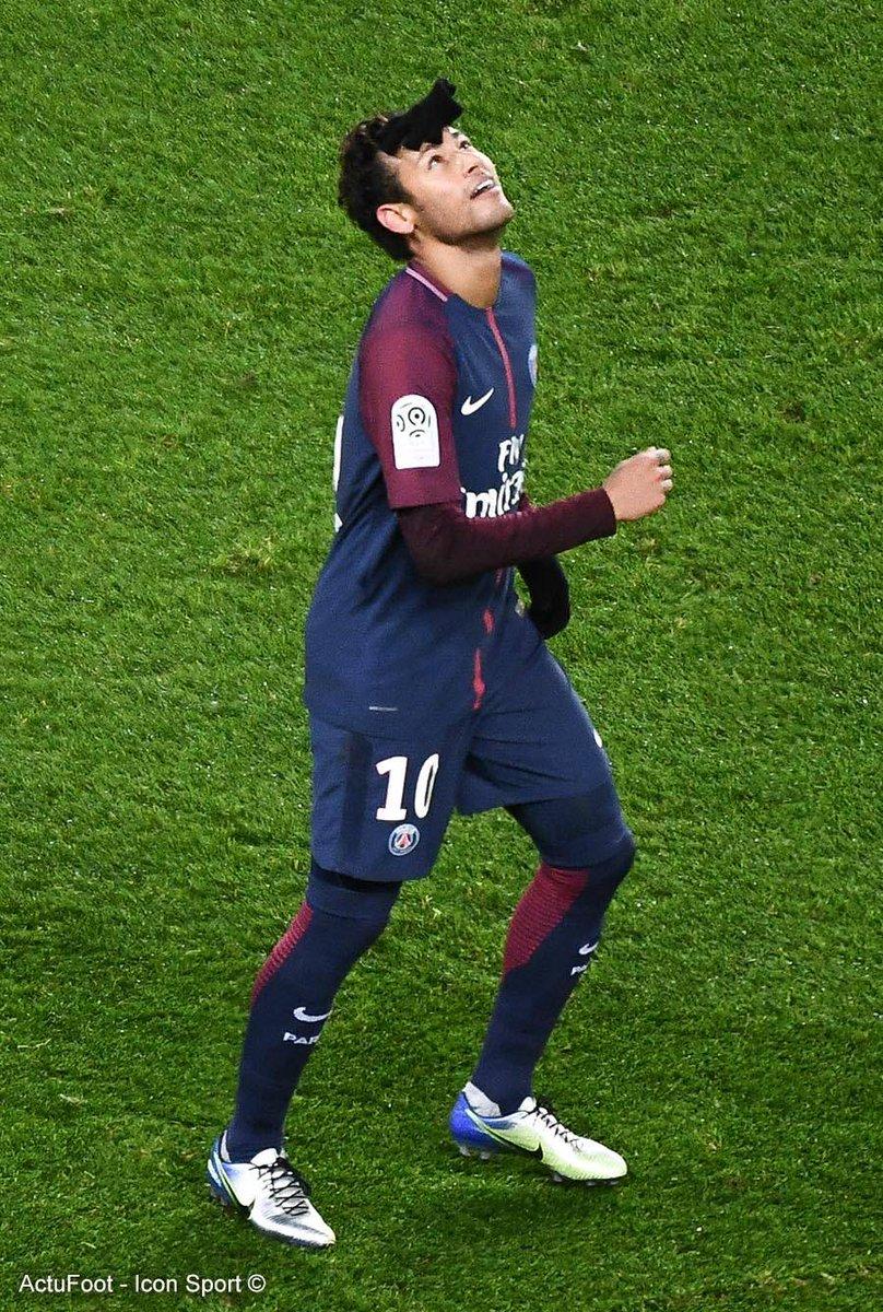 Neymar a marqué autant de buts face à Dijon que Cristiano Ronaldo en Liga depuis le début de la saison (4).