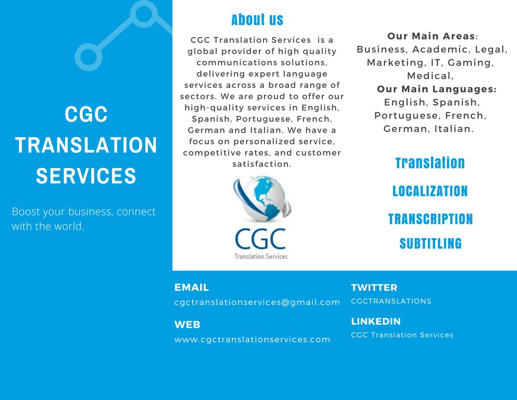 CGC Translation Services (@cgctranslations) | Twitter
