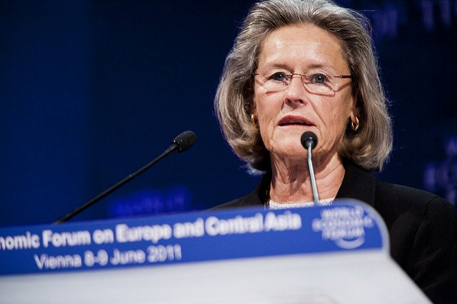 @wef Chairperson &amp; Co-Founder Hilde Schwab: &quot;For 20 years, #Schwabfound has fostered #SocialEntrepreneurship worldwide &amp; highlighted leading social innovation models to top decision-makers in business &amp; government.&quot; <br>http://pic.twitter.com/N7WGXiMRcw