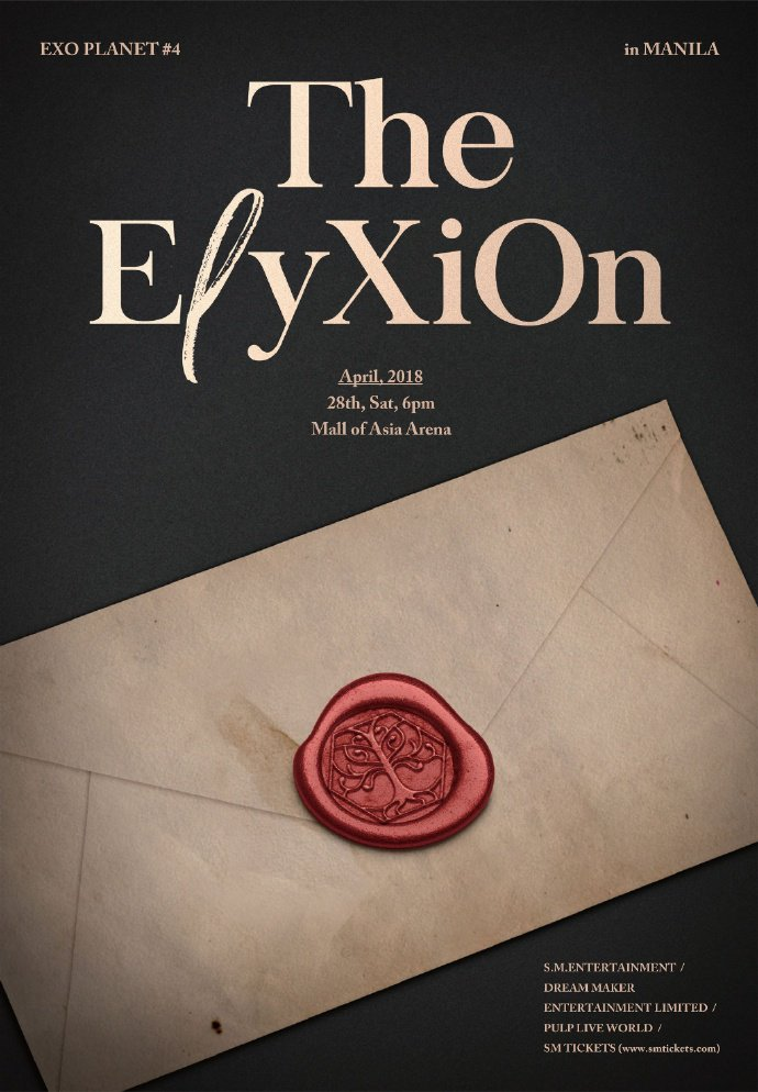 180118 EXO PLANET #4 - The EℓyXiOn in Manila - 2018.04.28 PM 6:00 - Mall of Asia Arena https://t.co/rvid4wjEGT