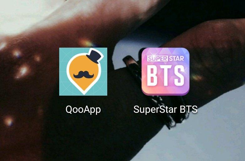 qooapp descargar superstar bts