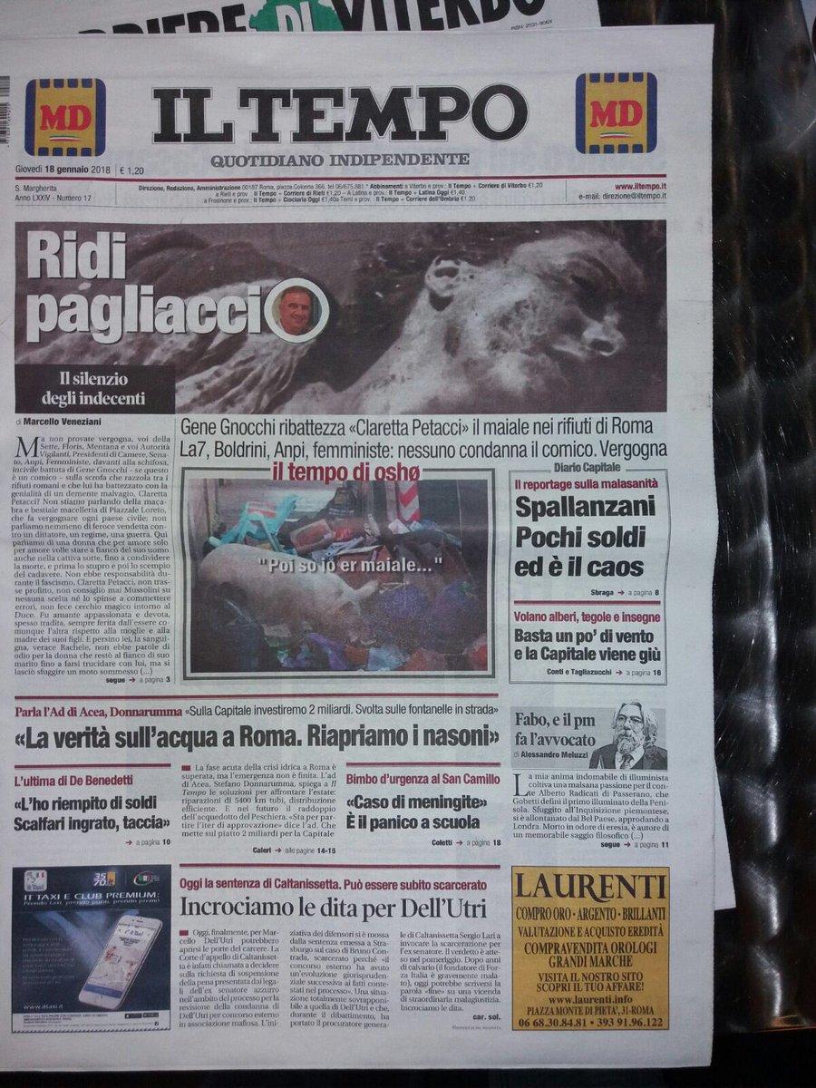 #Gnocchi 💩 #Floris, 💩 ridete pagliacci r...