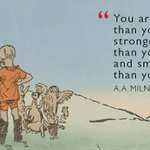 RT @EnglishHeritage: #otd in 1882, A. A. Milne, th...
