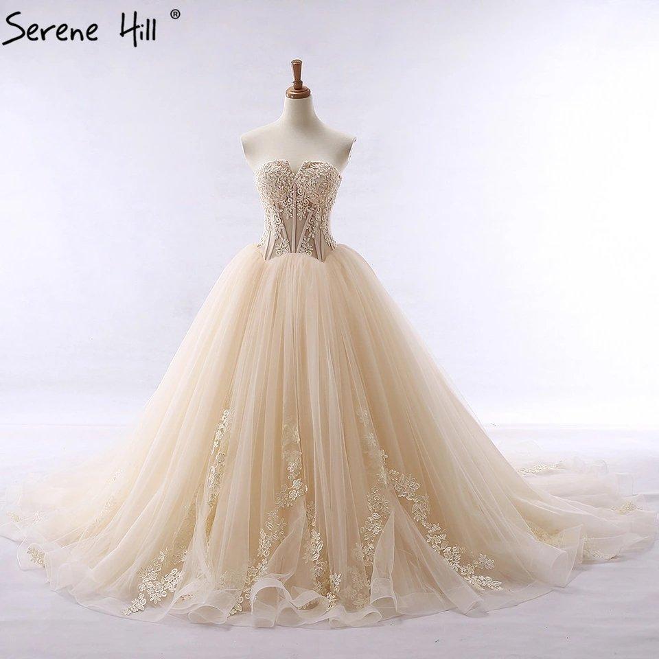 عرض  فستان زفاف فاخر تصميم جميل وجودة عا...