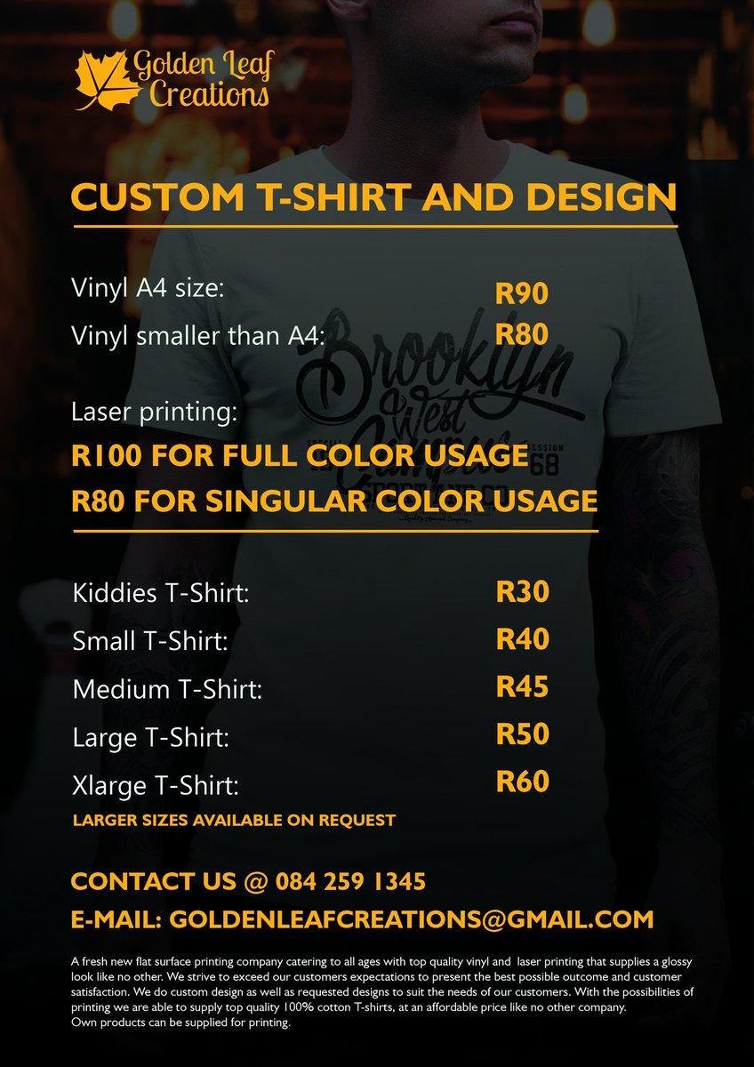 Vinyl T Shirt Printing Price List Enam T Shirt