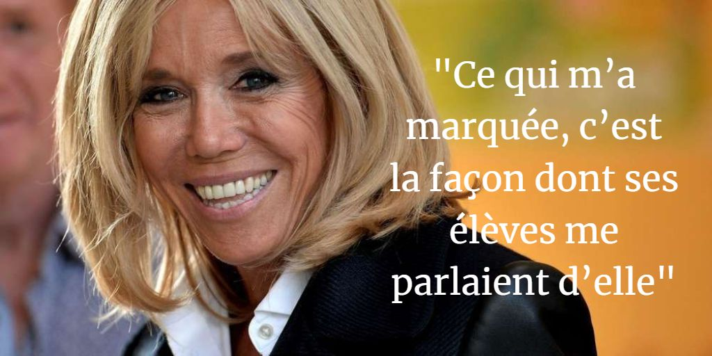 Qui est vraiment Brigitte Macron? L'auteure de sa biographie raconte https://t.co/Tcd4jpTTtp