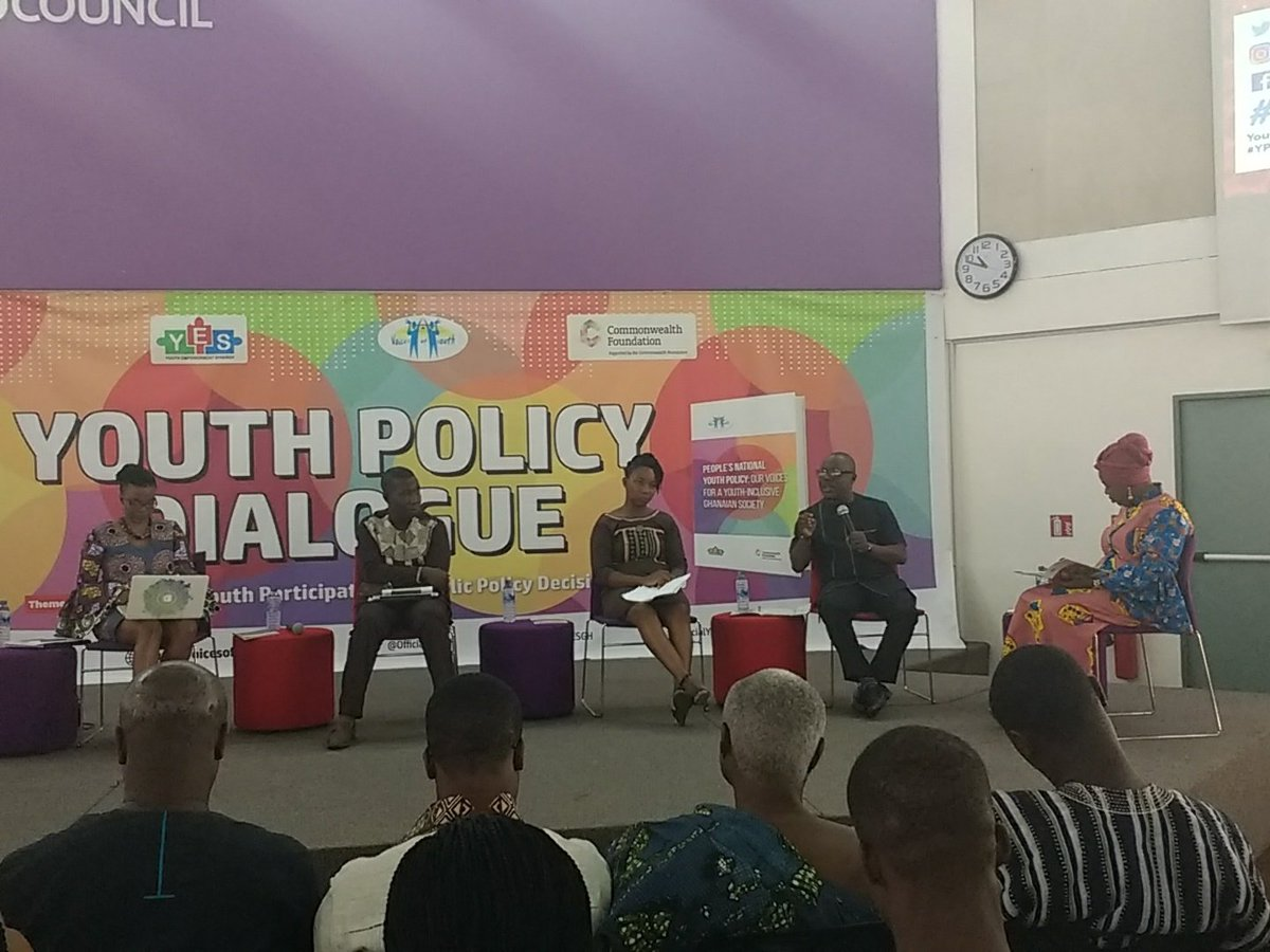 We are at the #YPDialogue @ghBritish organised by @OfficialYESGH. On the agenda&gt;Youth participation in national youth policy. #education #health #employment #skills #development #globalgoals @Eniimartey @londonna99 @NkAryee @TheOkoArmah @commonwealthorg @YoungLeadersFdn<br>http://pic.twitter.com/bY73DDVvvr