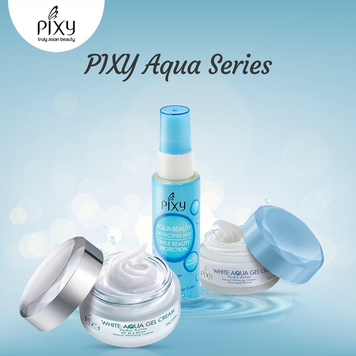 Pixy Aqua Beauty Protecting Mist Daftar Harga Terlengkap Indonesia Spray 60 Ml White Gel Cream Day Sebagai Krim Pagi