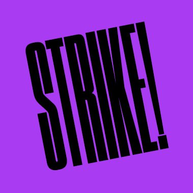 . @strikeyo - a new partner, celebrating creative culture of grassroots movements. #indymedia