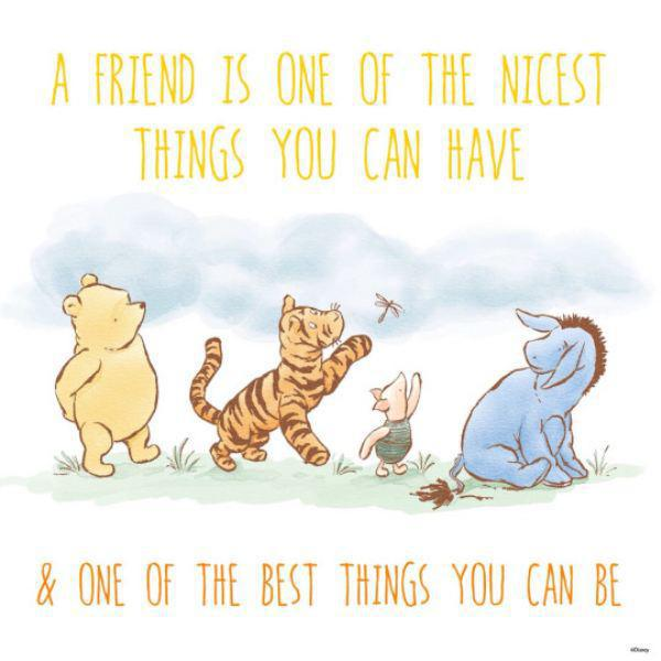 "Quotes From Winnie The Pooh About Friendship Entrancing End Loneliness On Twitter ""we Agree With Winnie The Pooh"