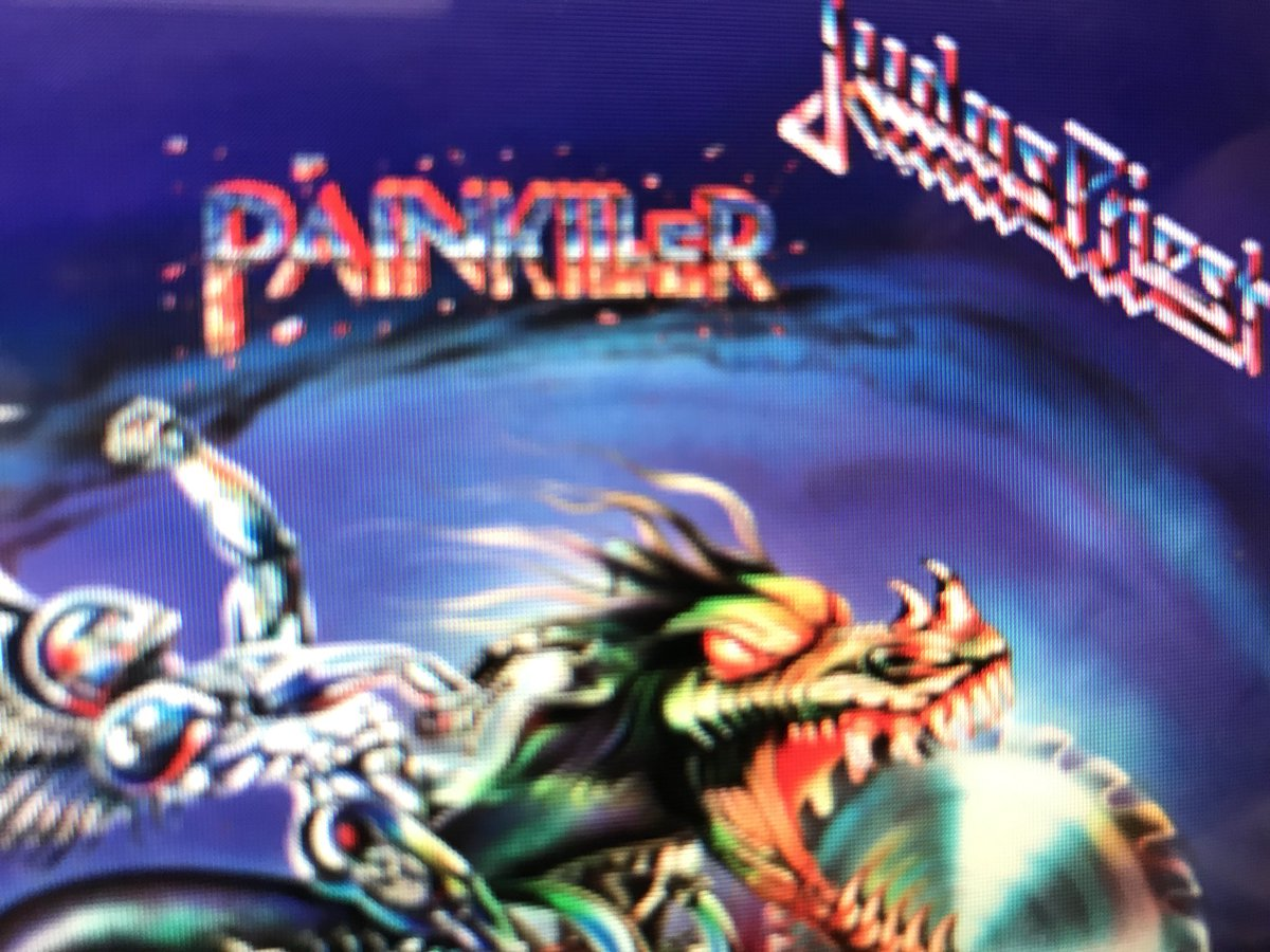 Today is a @judaspriest #Painkiller on repeat kind of day https://t.co/WGEZpEJ3Zz
