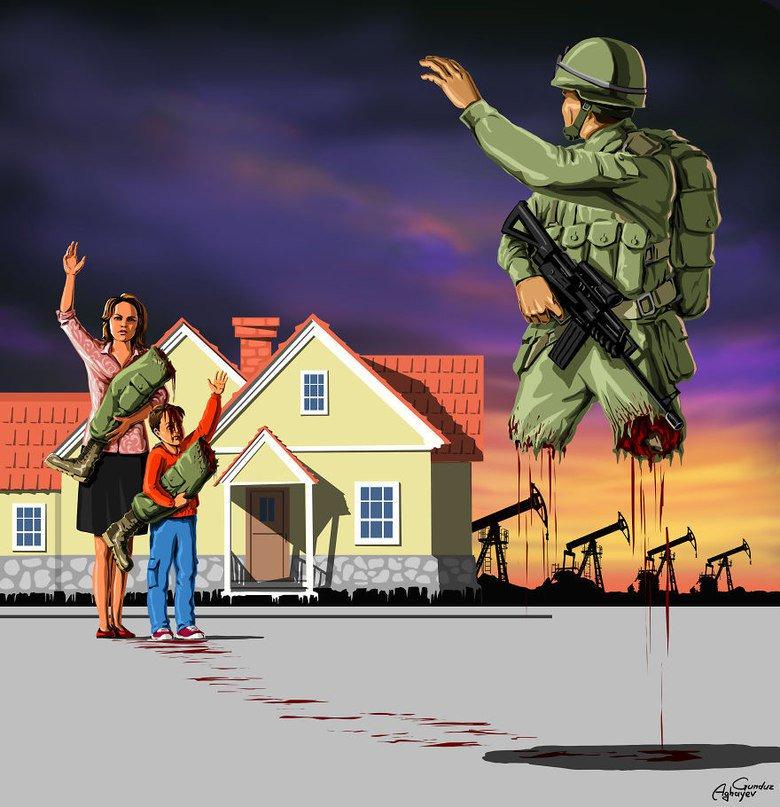 Картинка со смыслом про войну