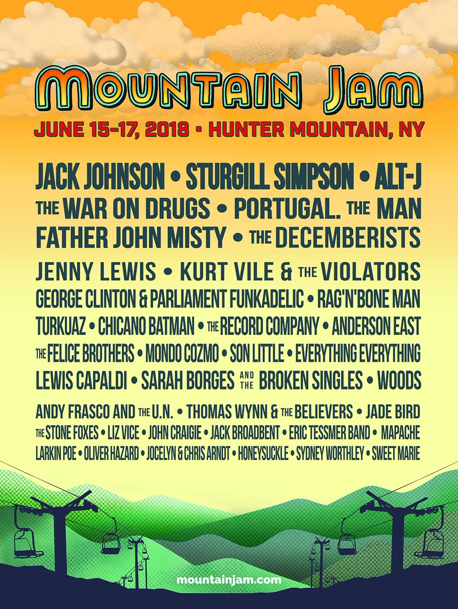 What's good New York!? I'll be at @MountainJam in the summer, see you there. https://t.co/1c5HXzPM4C https://t.co/gMSnMpBr1K