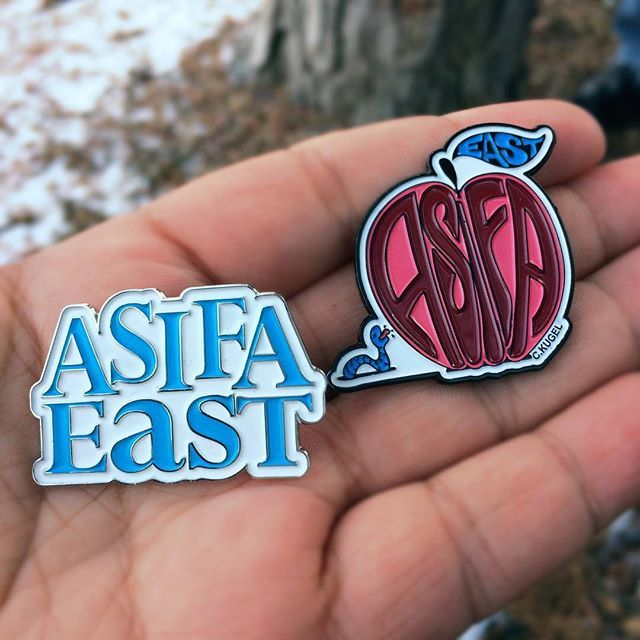 Presenting our fun new pins! On sale for the first time ever at tomorrows animation party! $5 while supplies last!!! Party info on Facebook. Your support means we can continue our festival and events for years to come! #asifa #asifaeast #animation #pins