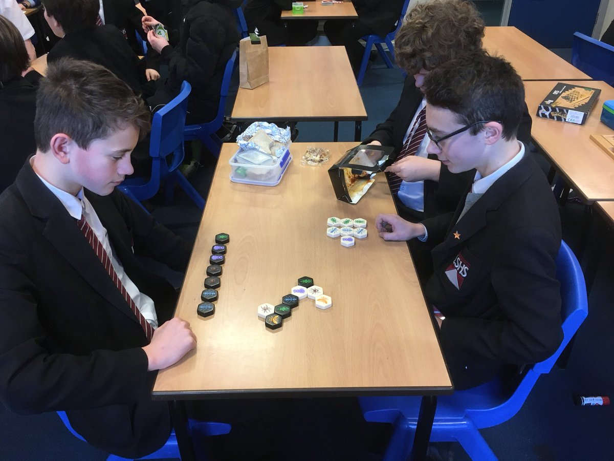 Thursday lunchtime means one thing: boardgame club!