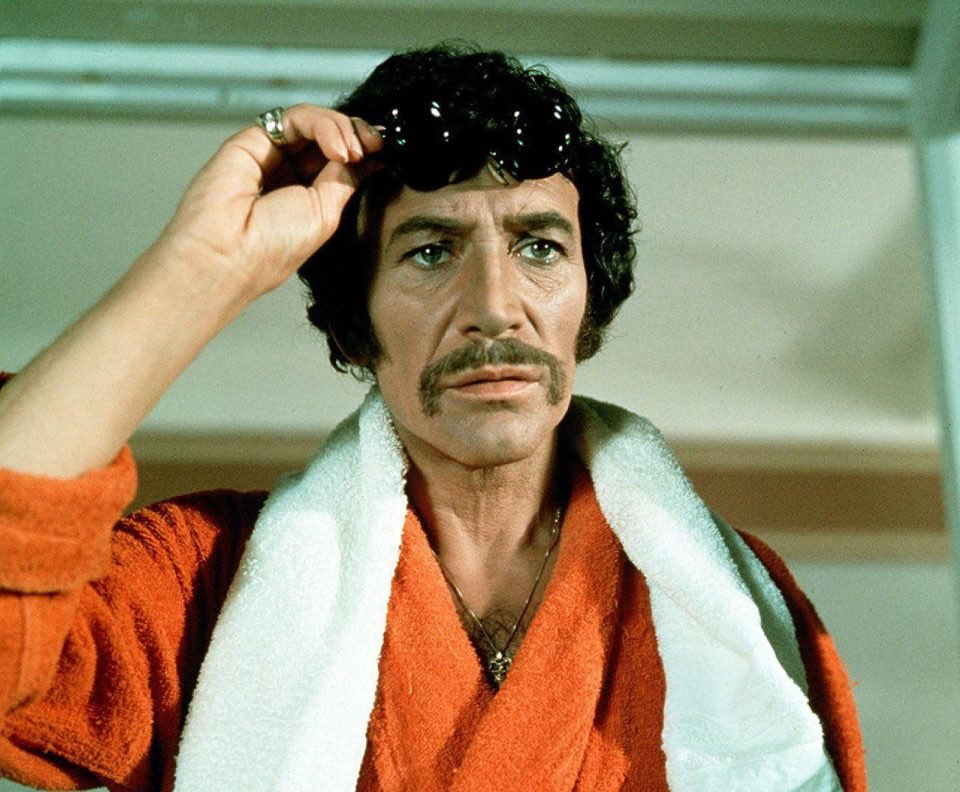 The magnificent #PeterWyngarde